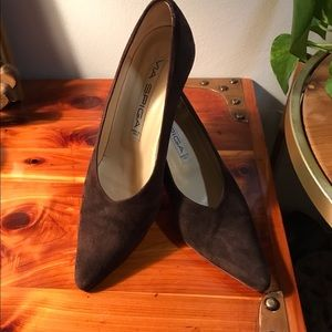 Via Spiga Sexy Brown Suede Gorgeous Pumps Size 7AA
